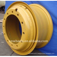 OEM Medium duty large wheel ,Utility Engineering wheel rims