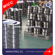 alambre de resistencia eléctrica nicromo NiCr8020