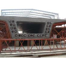 Equipo de sistema de viga de caja hidráulica para la fabricación de puentes