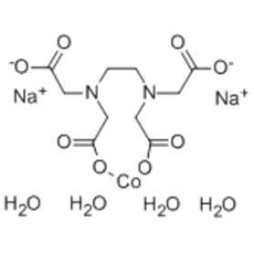 Cobaltat (2 -), [[N, N'-1,2-Ethandiylbis [N - [(carboxy-kO) methyl] glycinato-kN, kO]] (4 -)] -, Natrium (1: 2), (57254191, OC-6-21) - CAS 15137-09-4