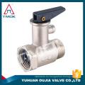TMOK Válvula de seguridad de latón con válvula de seguridad de válvula de seguridad de presión de mango de plástico para caldera de agua