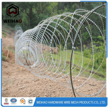 cross type razor barbed wire