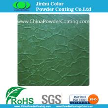 Green Crocodile Skin Texture Powder Coatings