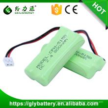 Geilienegy haute qualité CPH-515D 2.4 v 800 mah batterie rechargeable ni-mh batterie