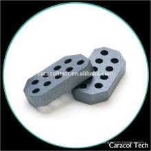 C65 D9H14.51 Permeabilidade elevada DnH Tipo Ni-Zn Soft Ferrite Core