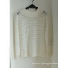 Mulheres Filamentos Thin Pullover Knitwear