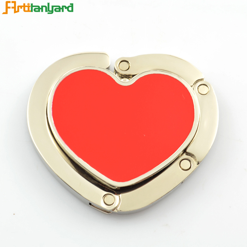 Foldable Heart Bag Hanger