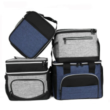 Eco-Friendly Sports Gym Outdoor Picnic Insulated Tote Lunch Cooler Bag