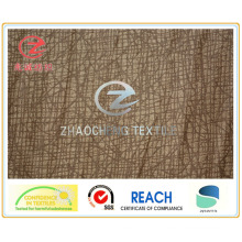 105D тиснение основа полиэфирной замши ткань одежды (ZCGF099)