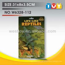 Simulação de animais da selva crocodilo