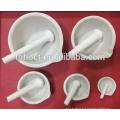 99% Alumina Porcelana Cerâmica Corindo Almofariz e Pilão / alumina cadinho