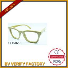 Gafas de sol hechas a mano de bambú Simple de 2015 (FX15029)