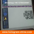 Security Laser Hologram Hot Stamping Sticker