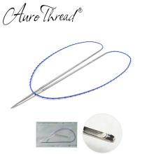 Double needle thread 20G 110mm face