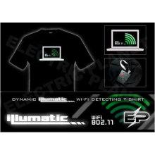 [Super Deal]Wholesale fashion hot sale T-shirt A9,el t-shirt,led t-shirt