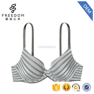 Beautiful high quality very sexy new design push up 38 bra size plus size ladies bra