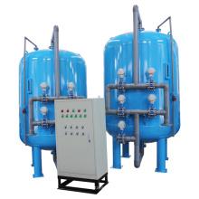 20 M3 / H Песочный фильтр обратной промывки в режиме ожидания / ожидания