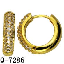 Factory Hotsale Fashion Copper Jewelry Earring Huggies