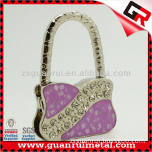 Popular hot sell heart shape purse hanger for gifts