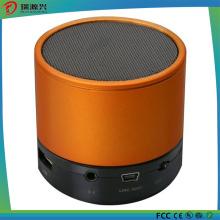 Haut-parleur Bluetooth sans fil portable avec couvercle en métal
