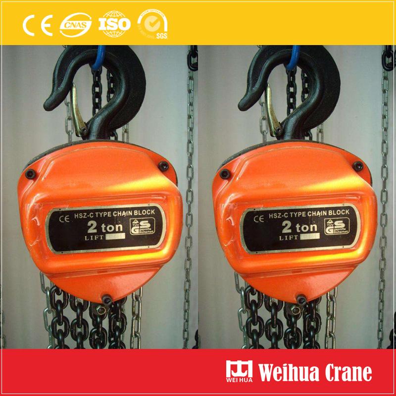 Manual Control Chain Hoist