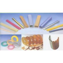 Types de baguettes en PVC pour meubles