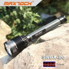 Maxtoch SN6X-20 7 * CREE XML T6 de alta potência LED recarregável mais brilhante Flashlihgt