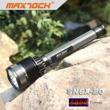 Maxtoch SN6X-20 7 * CREE T6 XML высокой мощности Перезаряжаемый светодиодный ярких Flashlihgt