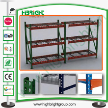 Beam Warehouse Rack / Interlake Palet Rack con panel de acero