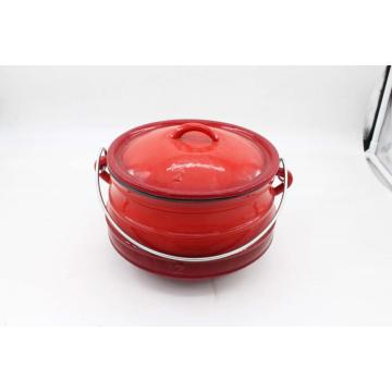 Red Enamel Potjie No.2