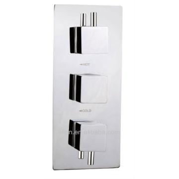 Mezclador termostático de ducha encubierto con cartucho Vernet