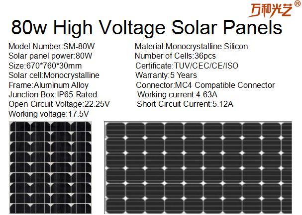 80w High Voltage