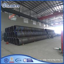 Tubo de dragagem de soldagem de aço de alta qualidade com ou sem flanges (USB2-055)