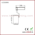 Muy caliente 30W blanco / negro luces LED COB Track para joyería tienda LC2328t