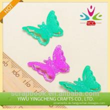Schmetterling benutzerdefinierte Metall Logoaufkleber für DIY Dekoration Handwerk