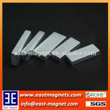 small block thin block neodymium zinc coated magnet for sale/ningbo east magnet block magnet for sale