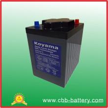 Хорошее качество глубокий цикл гель батареи 6V 225ah
