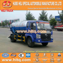 FOTON 4x2 6000L vacuum suction tank truck hot sale