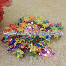 10 * 2MM Flower Shape Laser Sequins Beading Beads Jewelry