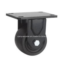 Rueda giratoria de nylon de bajo perfil de 3 pulgadas, 500kgs Loading
