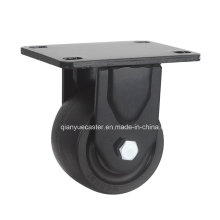 Rodízio giratório de 3 polegadas de baixo perfil, carregamento de 500 kg