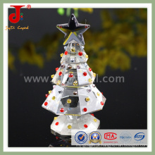 Árvore de Natal de decoração de vidro de cristal (JD-CT-100)