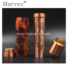 OEM/ODM Factory for Stabilized Wood Woody Vapes vape pen stable wood e cigarette mechanical mod supply to Spain Factory