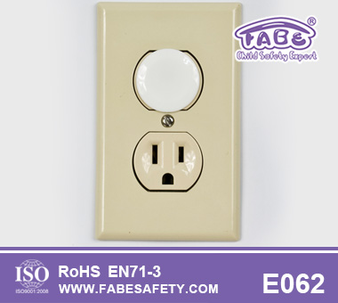 Child Safety Round Outlet Cover