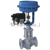 Pneumatic PFA Lined Bellow Flow Control Valve