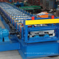 Petit pain en acier structurel de panneau de plate-forme de plancher formant la machine