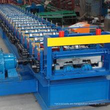 CE certificado profesional de gran venta de metal de acero estructural plataforma piso rollo formando precios de la máquina