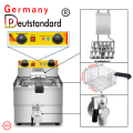 Electric fryer Commercial Electric Countertop Stainless Steel Deep Fryer Basket French Fry