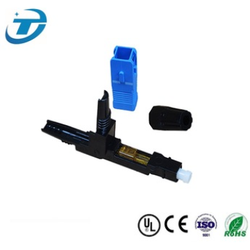 SC / APC SC / UPC Fiber Optic Fast Connector