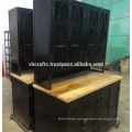 vintage industrial huch cabinet